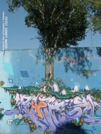 Árvore + Street Art