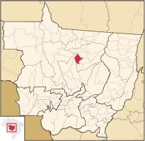 mapa localização SINOP