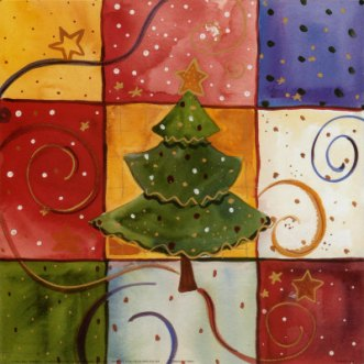 xmas tree art 2