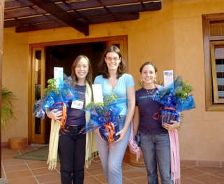 Renata, Juliana e Paula