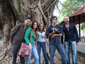 Equipe EcoShow e Árvores Vivas (Luciano Ogura, Juliana, Geórgia, Raphael e Nilson)