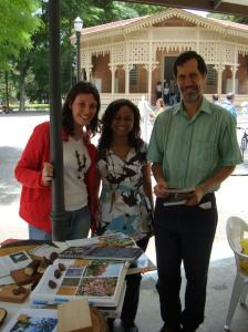 Juliana, Edina e Eduardo Jorge