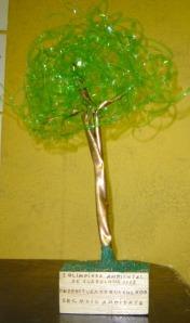 detalhe troféu-árvore