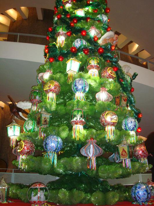 árvore reciclada Conjunto Nacional - Av Paulista