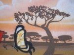árvore e borboleta (próximo largo 13 de maio em santo amaro)
