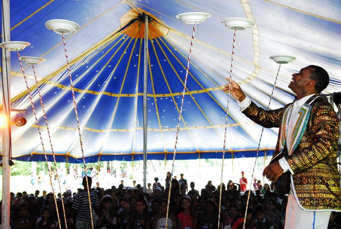 Tenda Circense - foto Agnaldo Rocha