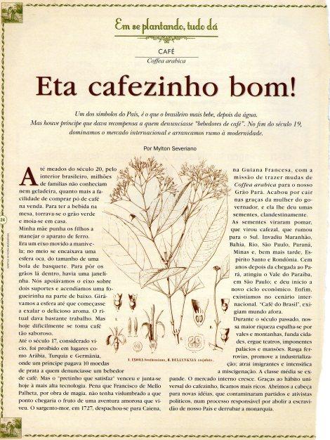 Matéria Revista BRASIL  - Almanaque de Cultura Popular ano 9 nº101 - a