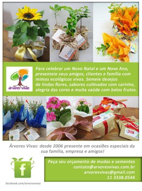 Encomende já seus presentes cheios de vida para o fim e começo do ano!!