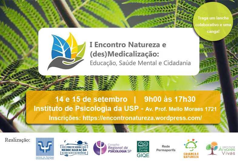 Encontro Natureza e (des)Medicalização
